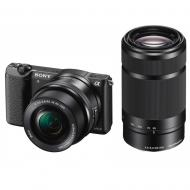 Цифровой фотоаппарат Sony Alpha 5100 + объектив 16-50 + 55-210mm kit Black (ILCE5100YB.CEC)