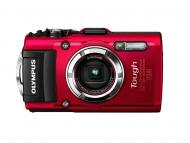 Цифровой фотоаппарат Olympus TG-3 Red (V104140RE000)