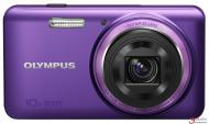 Цифровой фотоаппарат Olympus VH-520 Purple + case + SDHC 16 Gb KIT