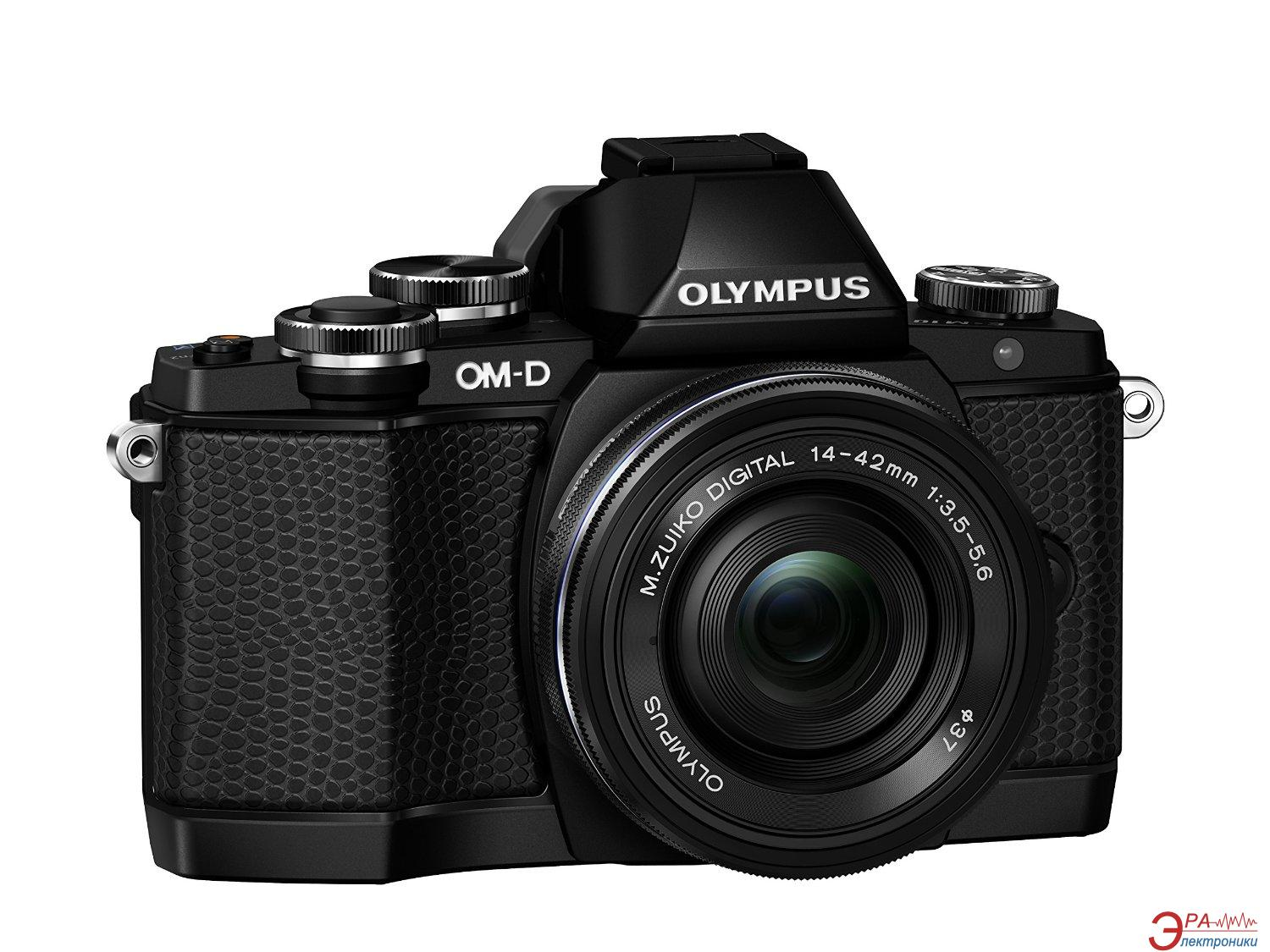 Цифровой фотоаппарат Olympus E-M10 pancake zoom 14-42 Kit Black (V207023BE000)