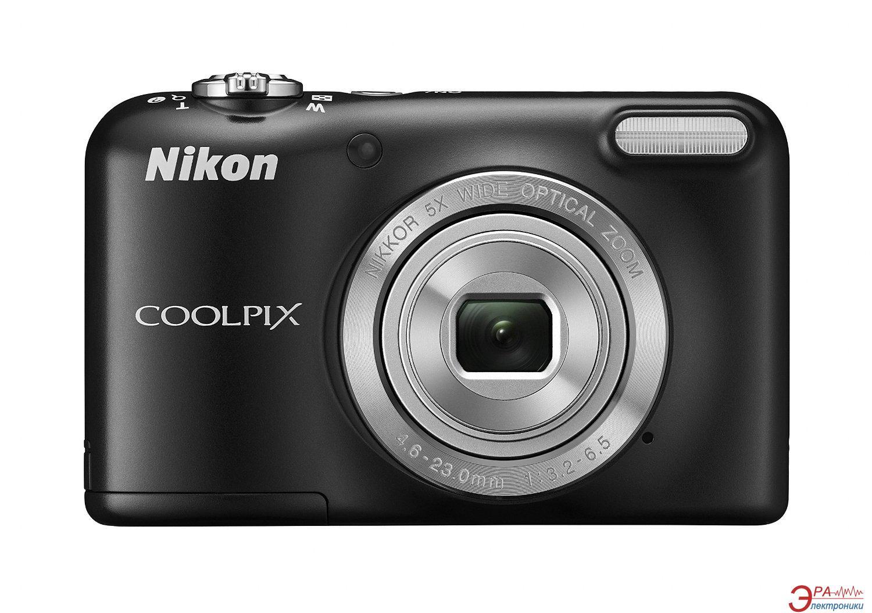 Цифровой фотоаппарат Nikon Coolpix L31 Black (VNA871E1)