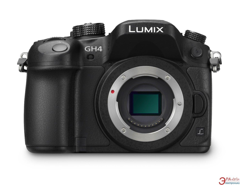 Цифровой фотоаппарат Panasonic DMC-GH4 body Black (DMC-GH4EE-K)
