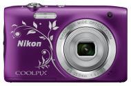Цифровой фотоаппарат Nikon Coolpix S2900 Lineart Purple (VNA834E1)