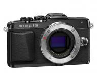 Цифровой фотоаппарат Olympus Pen E-PL7 14-42 mm Pancake Zoom Kit Black (V205073BE001)