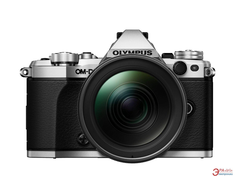 Цифровой фотоаппарат Olympus E-M5 mark II Pancake Zoom 14-42 Kit Black\Silver (V207044SE000)
