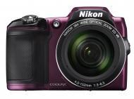 Цифровой фотоаппарат Nikon COOLPIX L840 Plum (VNA772E1)