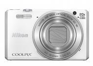 Цифровой фотоаппарат Nikon Coolpix S7000 White (VNA801E1)