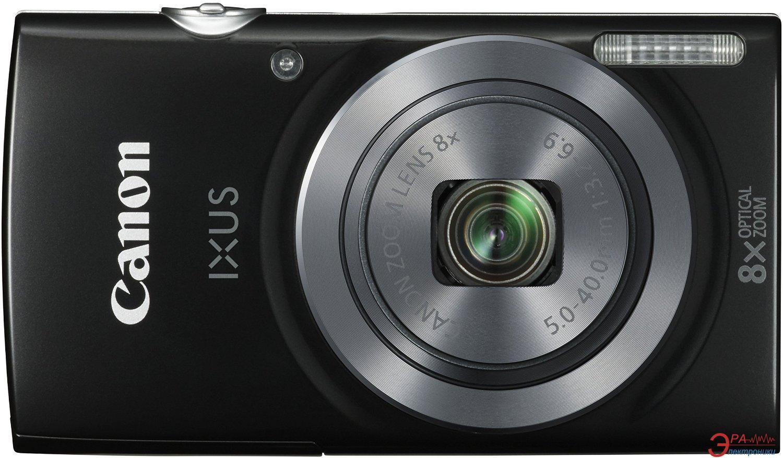 Цифровой фотоаппарат Canon IXUS 160 Black (0135C007)