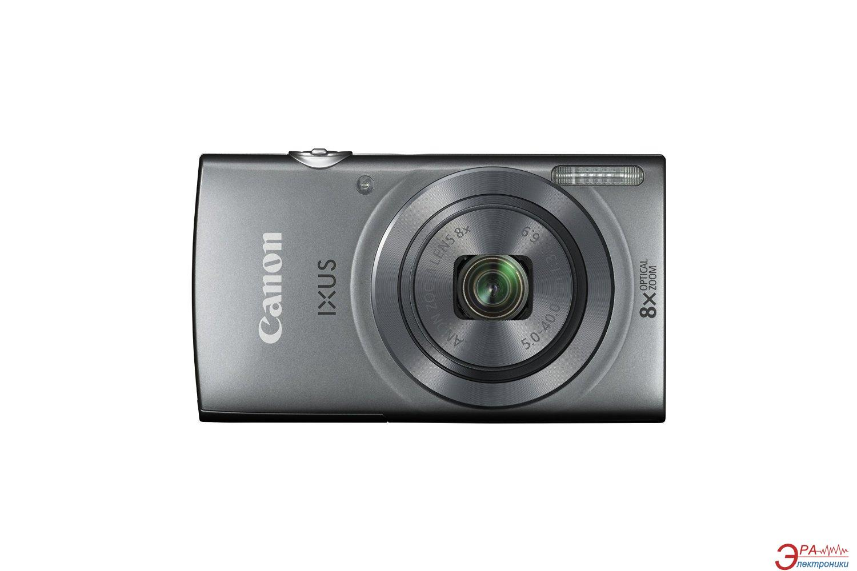 Цифровой фотоаппарат Canon IXUS 160 Silver (0138C007)