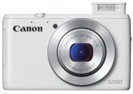 �������� ����������� Canon Powershot S200 White (8675B017)