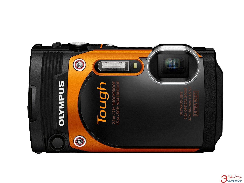 Цифровой фотоаппарат Olympus Tough TG-860 Orange (V104170OE000)