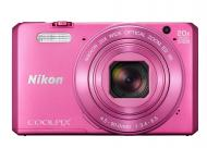 Цифровой фотоаппарат Nikon Coolpix S7000 Pink (VNA803E1)