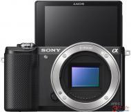 Цифровой фотоаппарат Sony a5000 kit 16-50 + 55-210mm kit Black (ILCE5000YB.CEC)