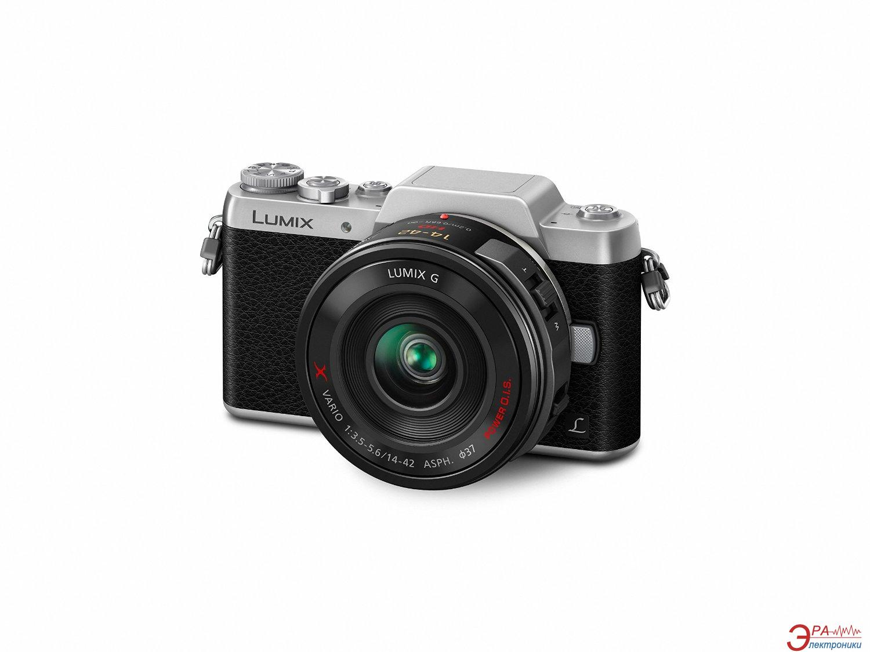 Цифровой фотоаппарат Panasonic DMC-GF7 Kit 12-32mm Black\Silver (DMC-GF7KEE-S)