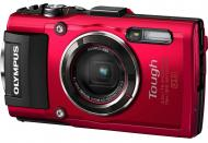 Цифровой фотоаппарат Olympus TG-4 Red (V104160RE000)