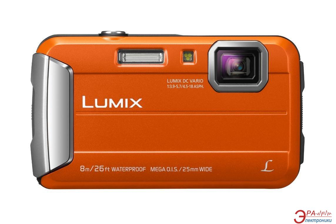 Цифровой фотоаппарат Panasonic Lumix DMC-FT30 Orange (DMC-FT30EE-D)