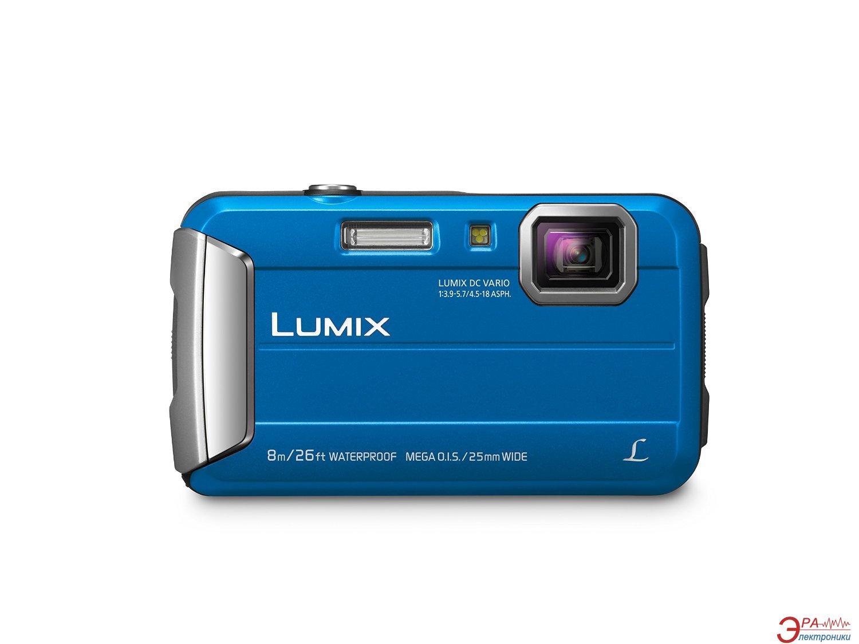 Цифровой фотоаппарат Panasonic Lumix DMC-FT30 Blue (DMC-FT30EE-A)