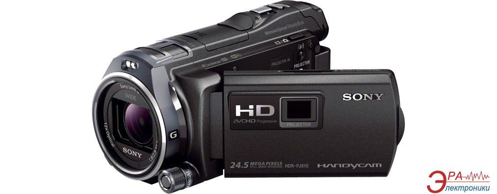 Цифровая видеокамера Sony HDR-PJ810E Black (HDRPJ810EB.CEL)