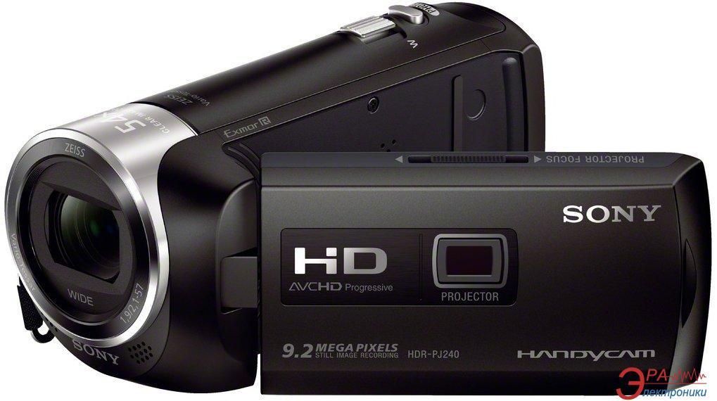 Цифровая видеокамера Sony HDR-PJ240 (HDRPJ240EB.CEL)