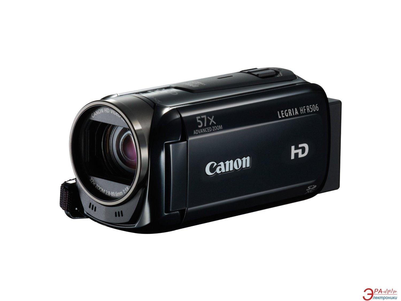 Цифровая видеокамера Canon LEGRIA HF R506 Black (9176B014)