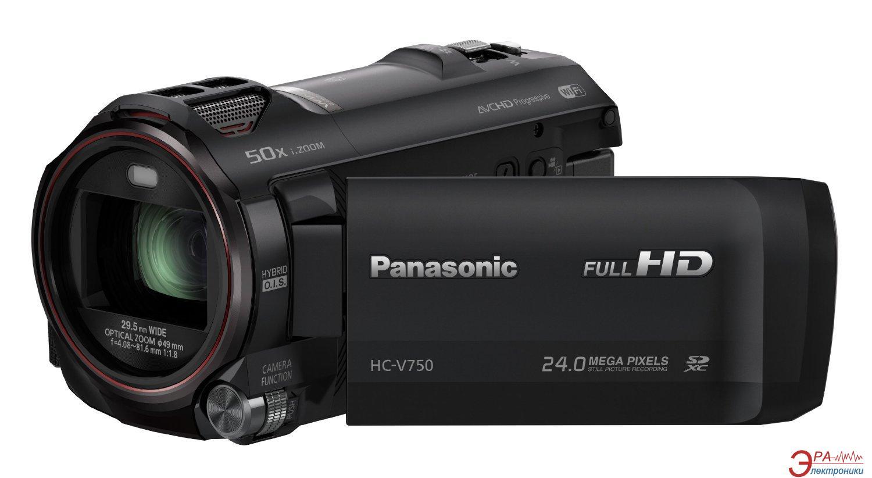Цифровая видеокамера Panasonic HC-V750 (HC-V750EE-K)