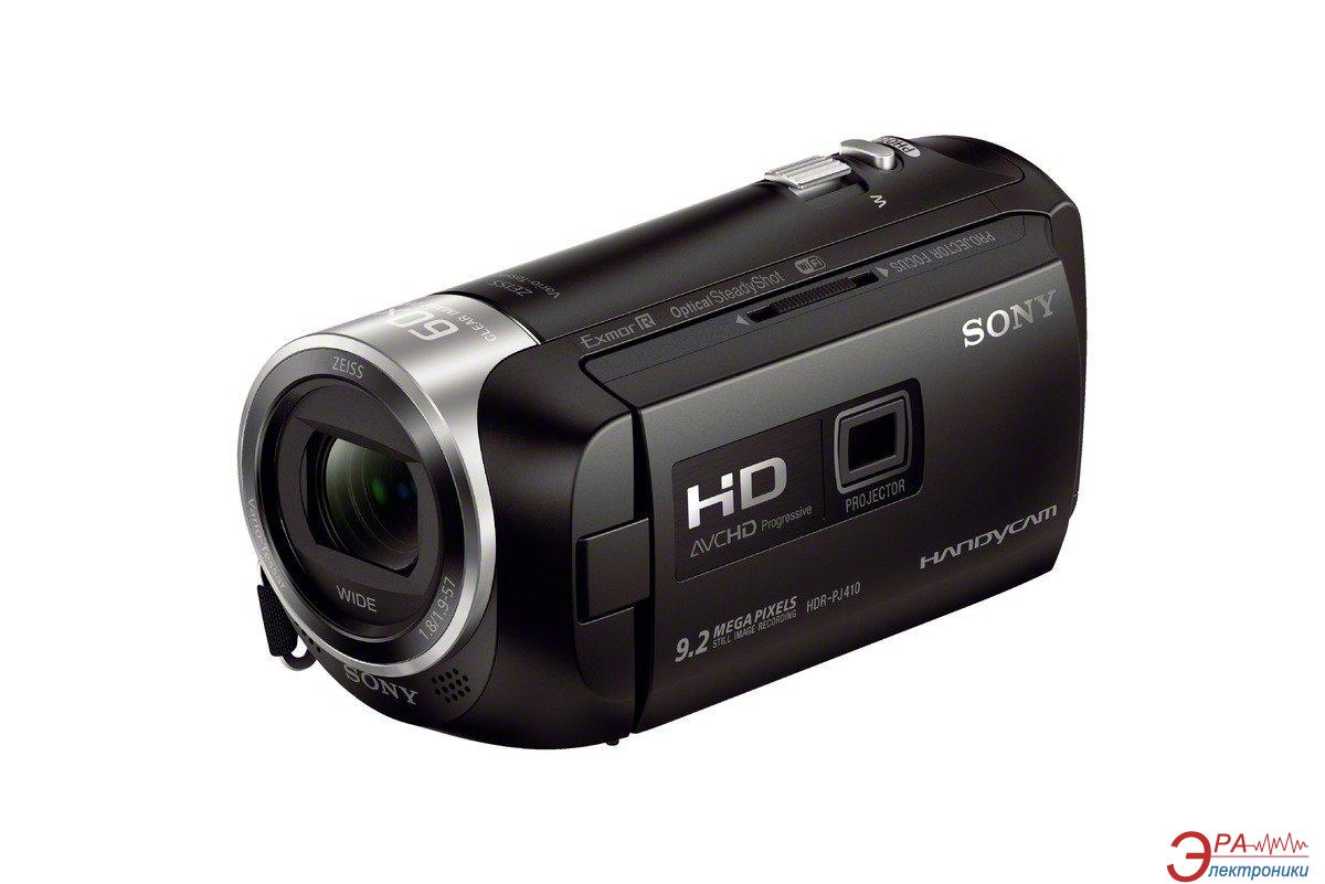Цифровая видеокамера Sony Handycam HDR-PJ410 Black (with Projector) (HDRPJ410B.CEL)