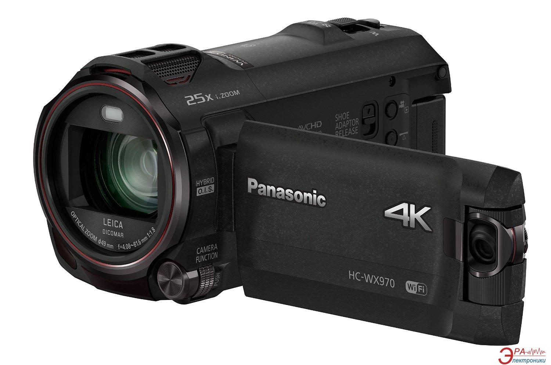 Цифровая видеокамера Panasonic HC-WX970 (HC-WX970EE-K)