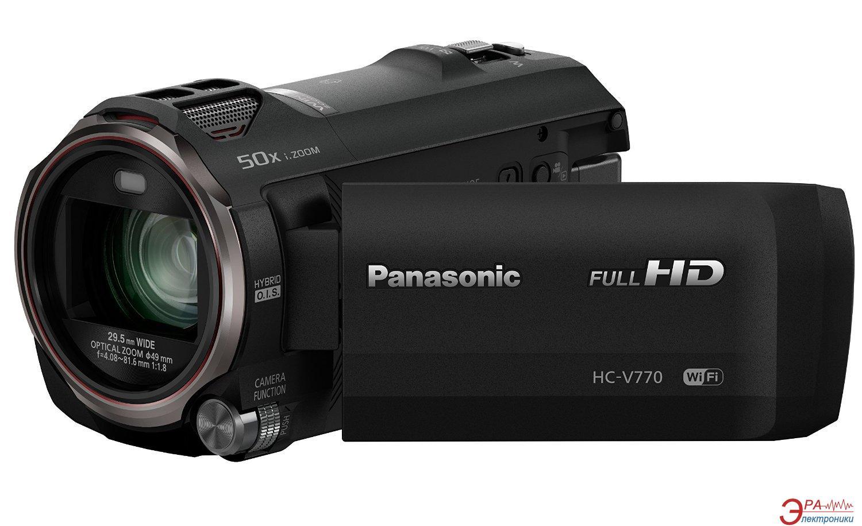 Цифровая видеокамера Panasonic HC-V770 (HC-V770EE-K)