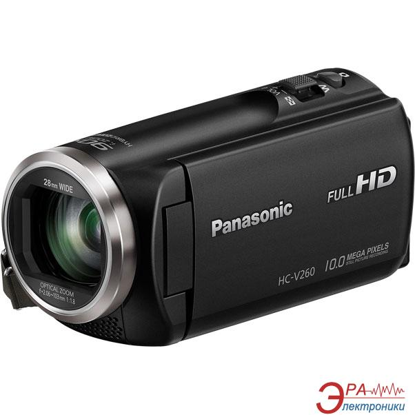 Цифровая видеокамера Panasonic HC-V260 Black (HC-V260EE-K)