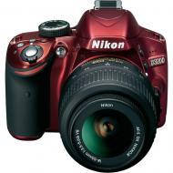 ���������� ���������� Nikon D3200 KIT + 18-55VR (VBA331K001) Red