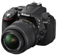 Зеркальная фотокамера Nikon D5300 + 18-55 VR (VBA370K001) Black