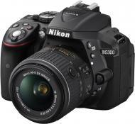 Зеркальная фотокамера Nikon D5300 + 18-55 VR II (VBA370K003) Black
