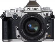 Зеркальная фотокамера Nikon Df KIT + AF-S 50mm f/1.8 NIKKOR SE (VBA381K001) Silver