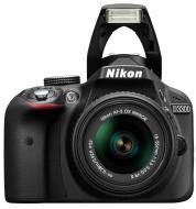 Зеркальная фотокамера Nikon D3300 + 18-55mm VR II KIT (VBA390K001) Black