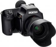 Цифровой фотоаппарат Pentax 645D kit FA 55mm f/2.8 AL IF SDM AW Black (1797200)