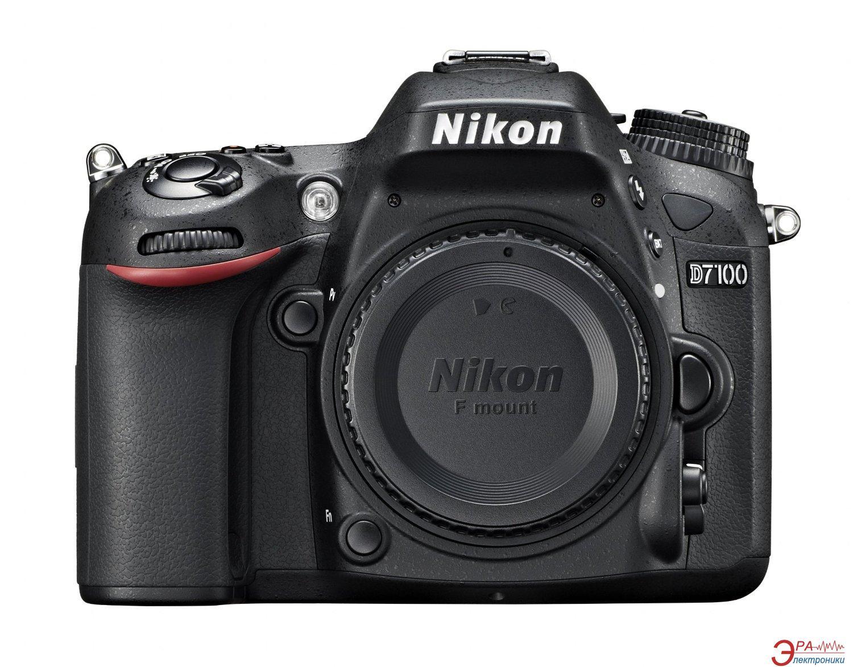 Зеркальная фотокамера Nikon D7100 KIT 18-140VR (VBA360KV02) Black