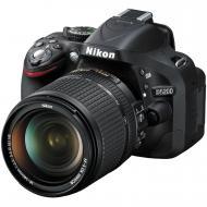 Зеркальная фотокамера Nikon D5200 kit 18-140 VR (VBA350KV08) Black