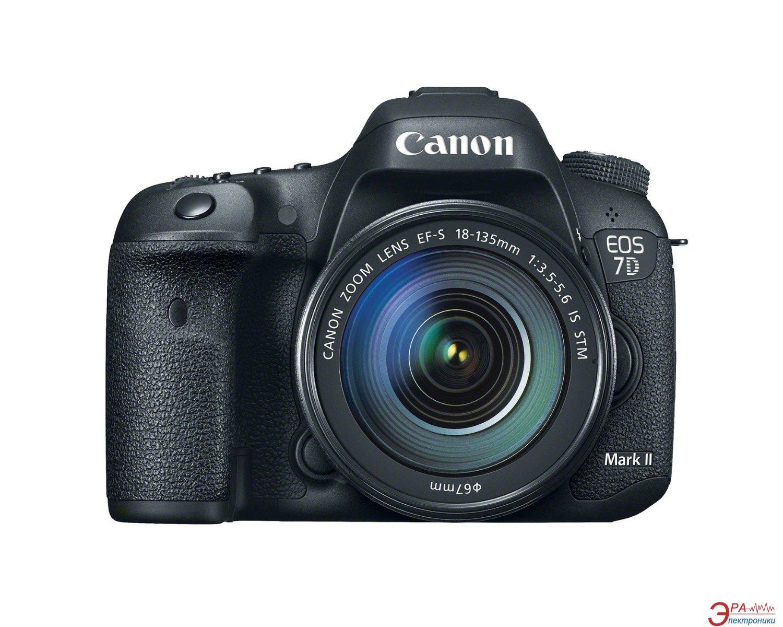 Зеркальная фотокамера Canon EOS 7D Mark II 18-135 IS (9128B045) Black