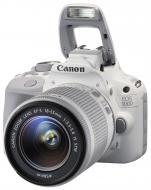 Зеркальная фотокамера Canon EOS 100D + объектив 18-55 IS STM (9124B017) White