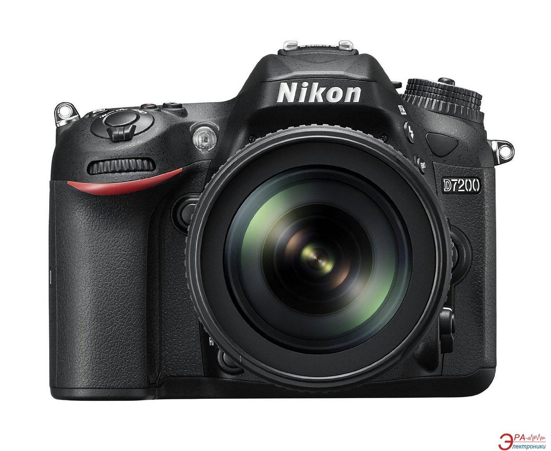 Зеркальная фотокамера Nikon D7200 + 18-105mm (VBA450K001) Black