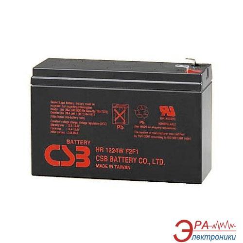 Аккумуляторная батарея CSB 12V 6.5Ah (HR1224W)