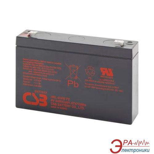 Аккумуляторная батарея CSB 6V 9AH (HRL634WF2)