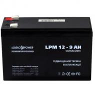 Аккумуляторная батарея LogicPower LPM 12V 9AH