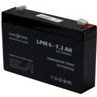 Аккумуляторная батарея LogicPower LPM 6V 7.2AH
