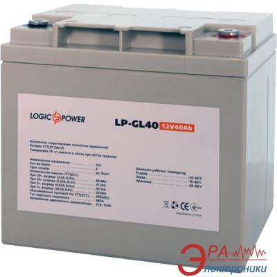 Аккумуляторная батарея LogicPower GL 12V 40AH