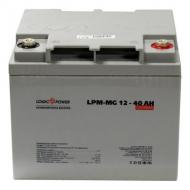 Аккумуляторная батарея LogicPower LPM MG 12V 40AH