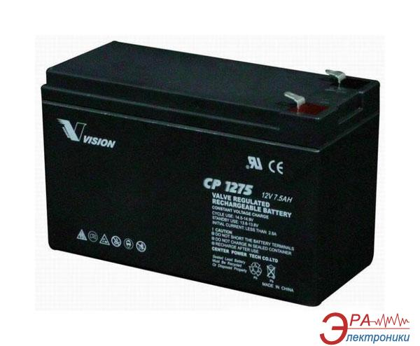 Аккумуляторная батарея Vision 12V 7.5Ah (CP1275)