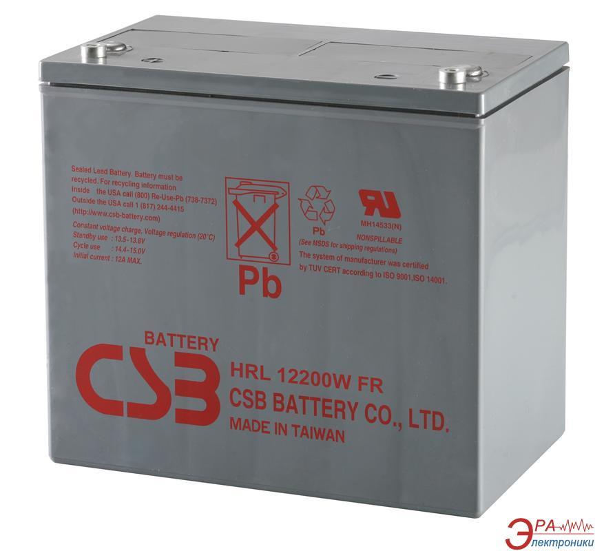 Аккумуляторная батарея CSB 12V 52Ah (HRL12200WFR)