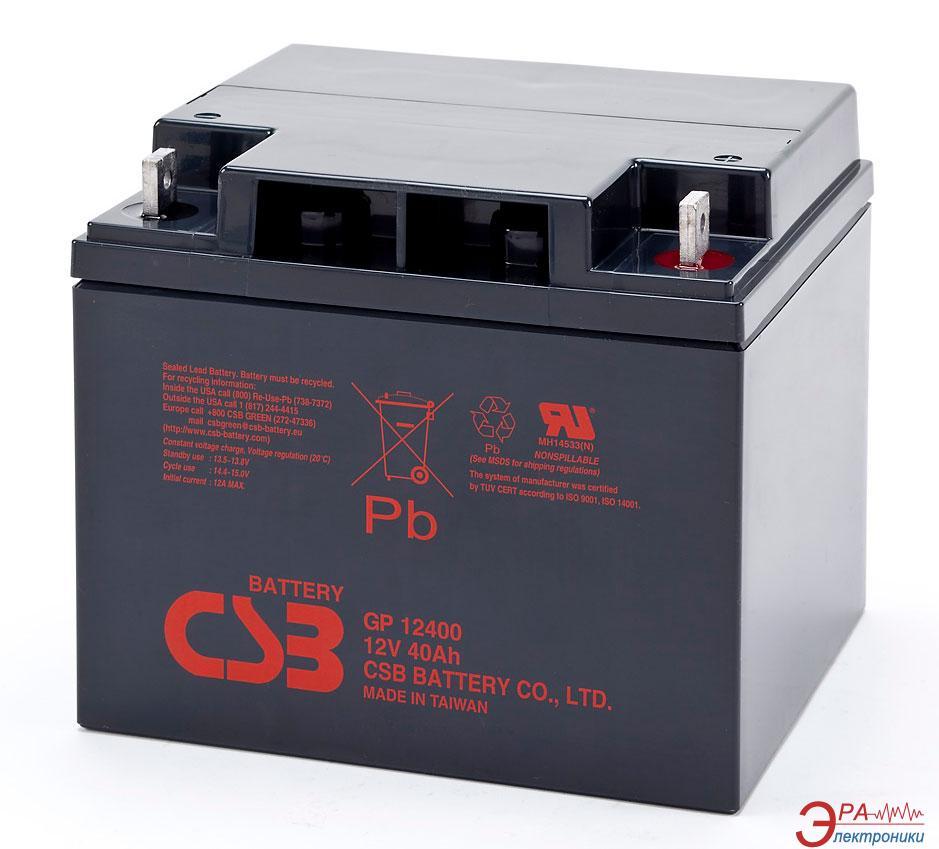 Аккумуляторная батарея CSB 12V 40AH (GP12400)
