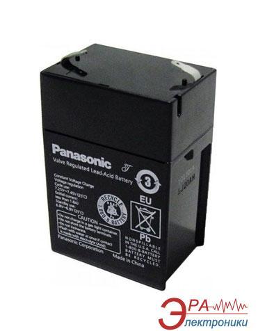 Аккумуляторная батарея Panasonic 6V 5.5AH (LCR6V5.5P)